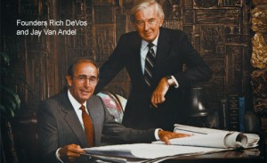 Amway Founders Rich Devos and Jay Van Andel
