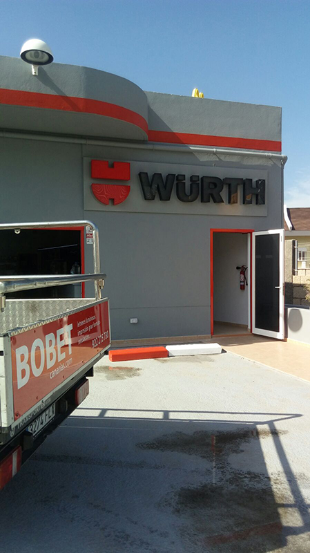 Wurth – Rótulo Luminoso