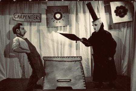 The Carpenter gets a warning