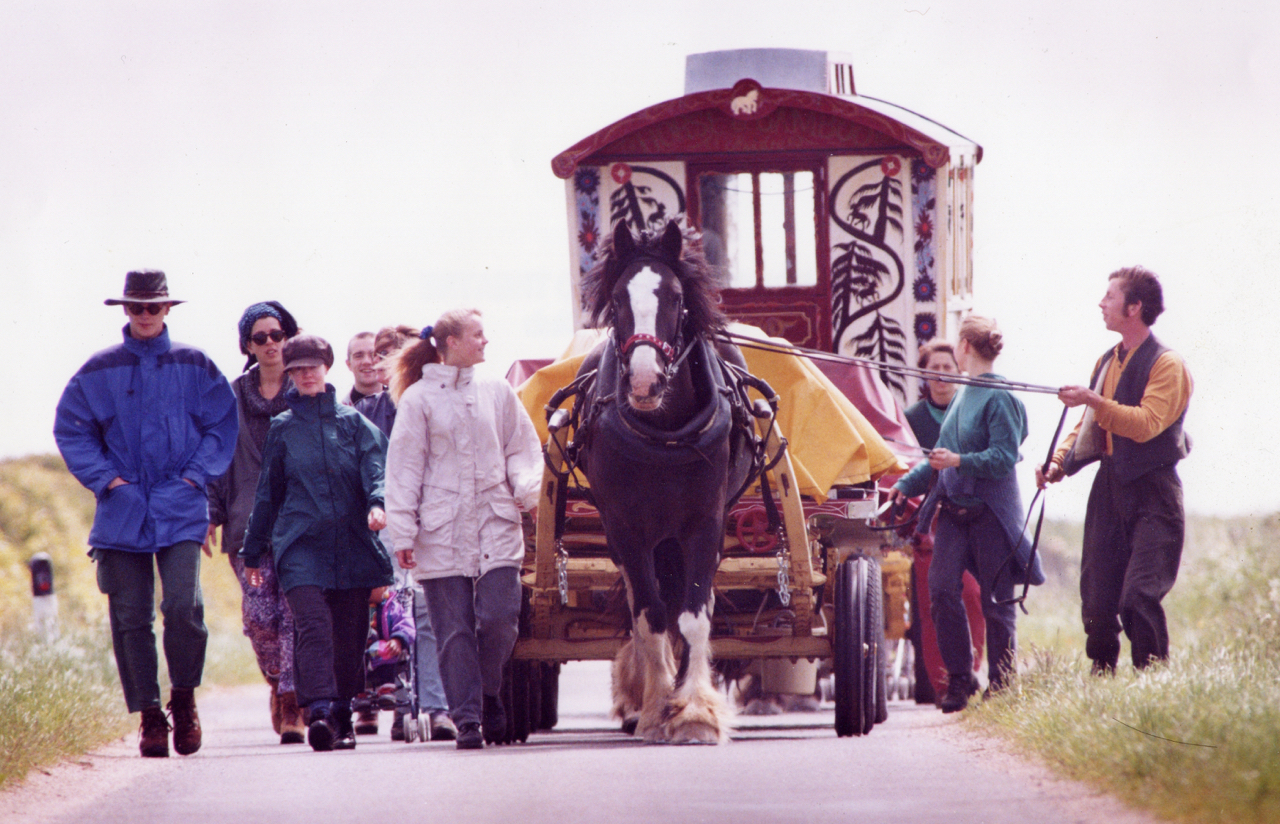 Bob Frith - horse-drawn in Caithness