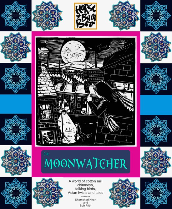 Poster for The Moonwatcher, Bob Frith