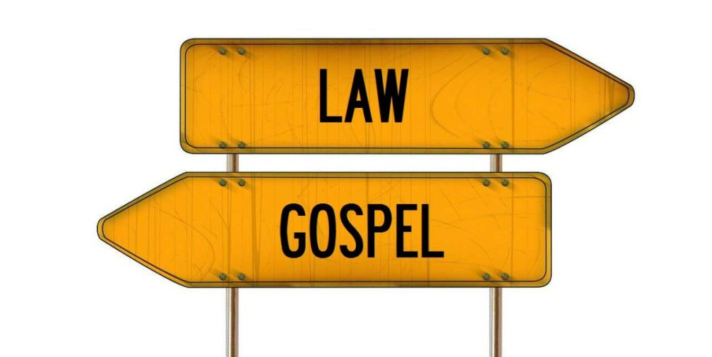 Image result for law vs gospel theology