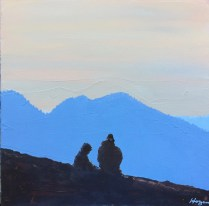 """Hikers Resting"": SOLD"