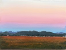 """Skagit Morning"": Original SOLD/Canvas mounted print available"