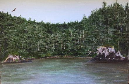 """Sitka Serenity"": Original SOLD"
