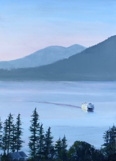 """""""Friday Harbor Arrival"""": SOLD"""