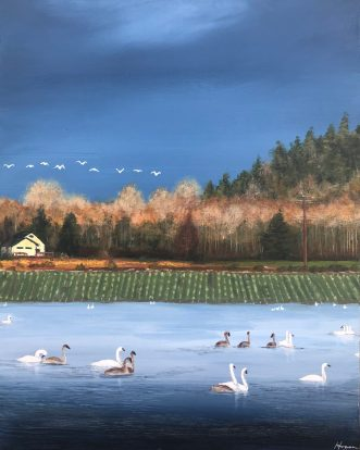 """""""Meanwhile, the wild geese, high in the clean blue air, are heading home again."""" - Mary Oliver"""
