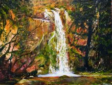 """""""The waterfall is nature's laughter."""" - Anonymous"""