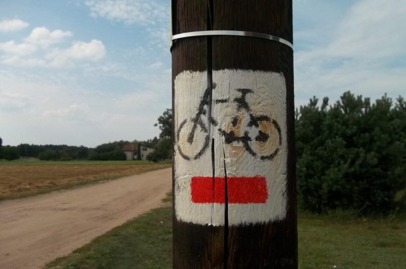 Szlak rowerowy w Nekielce