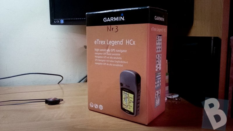 Garmin eTrex Legend HCx - opakowanie