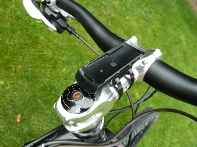 Garmin Dakota 20 - bicycle mount