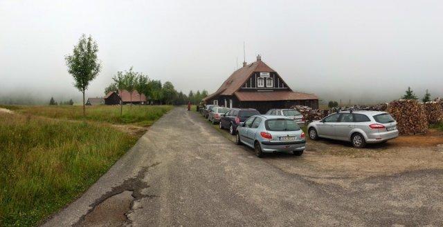 Góry Izerskie - Chata Pesakovna