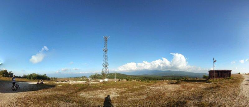 Góry Izerskie - Panorama znieczynnej kopalnii