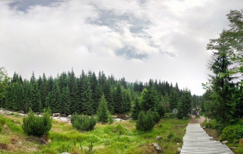 Góry Izerskie - nadIzerką