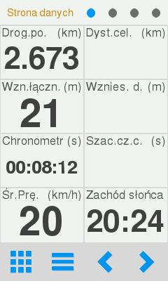 Komputerek wMenu wTwonav Sportiva 2+