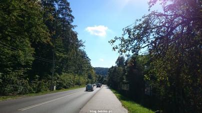 Droga do gdańskiej Oliwy - obok jest właśnie Pachołek