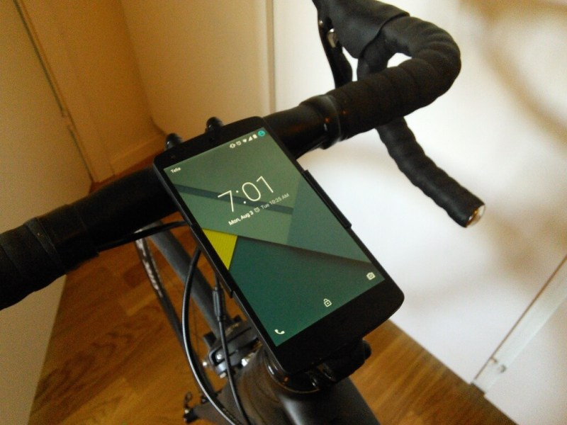 Nexus 5 bike mount by Ramdac - Thingiverse