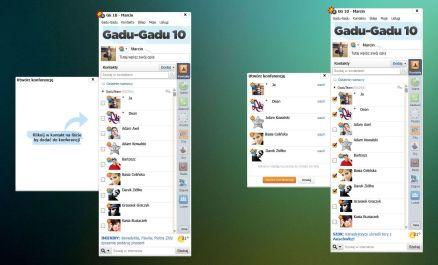 Wersja 10 prezentuje się znacznie nowoczesniej ale jeszcze funkcjonowała z nazwa Gadu-Gadu