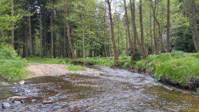 W Luzycki Horach nad rzeką Kamienice