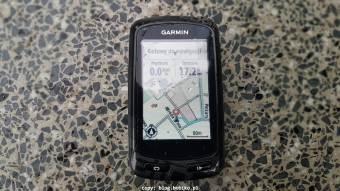 Garmin Edge 810 - mapa