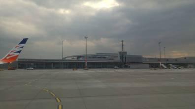 Fuertaventura - Lawica zokna samolotu