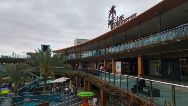 Fuertaventura - centrum handlowe wCorralejo
