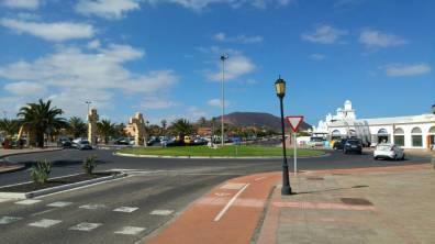 Fuertaventura - rondo Corralejo isciezka rowerowa