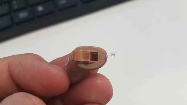 Siemens Insio - mikrofon zbliska