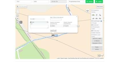 Osadzanie map zGPSies