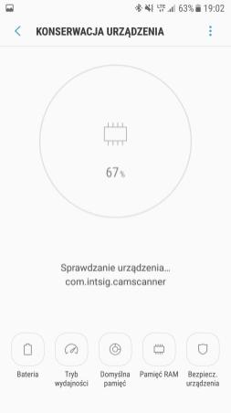 Samsung Galaxy S7 - konserwacja urządzeń
