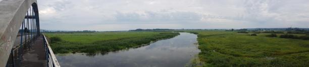 Panorama na Noteć
