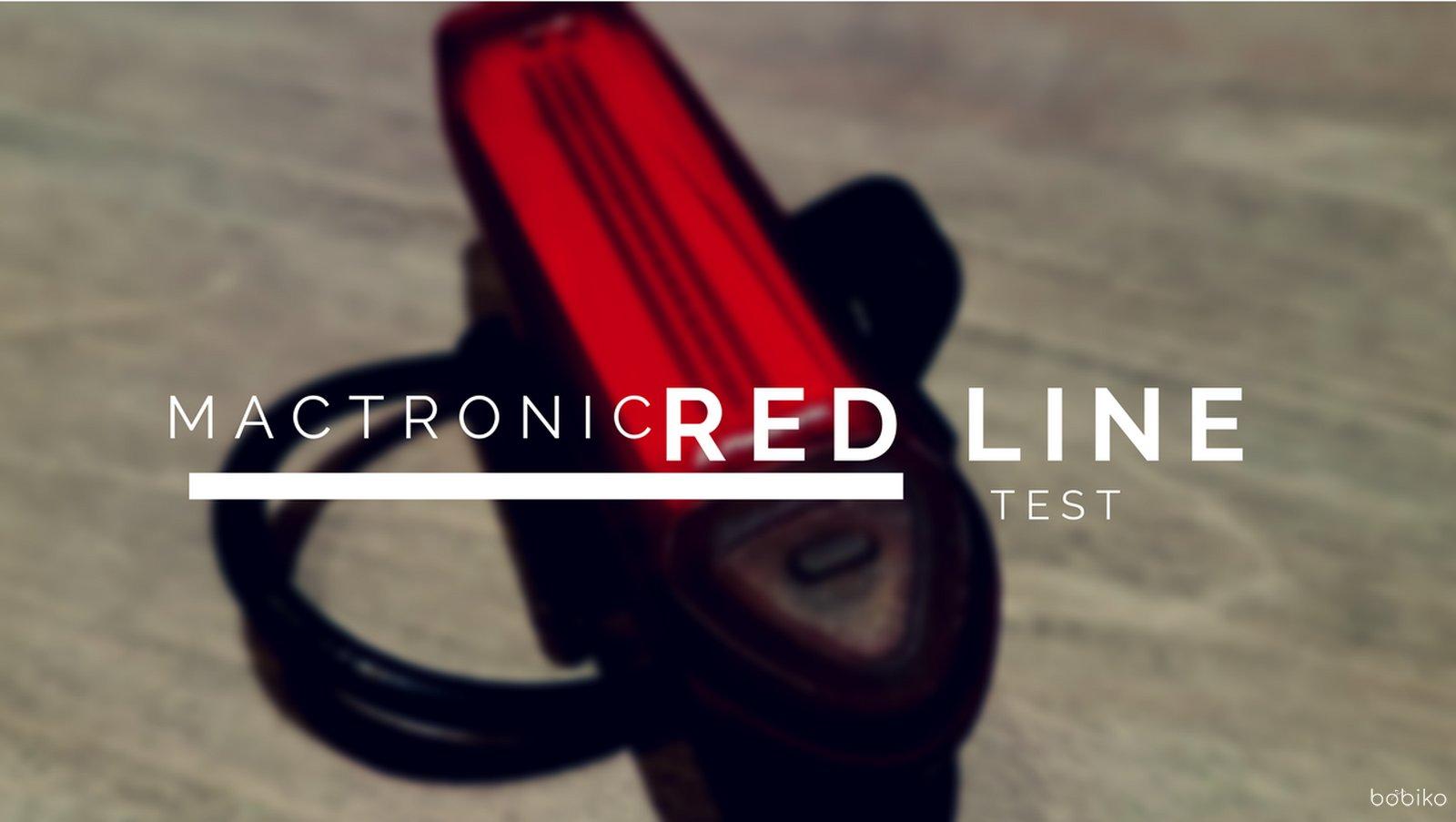 Mactronic Red Line Test Tylnego Oświetlenia Rowerowego