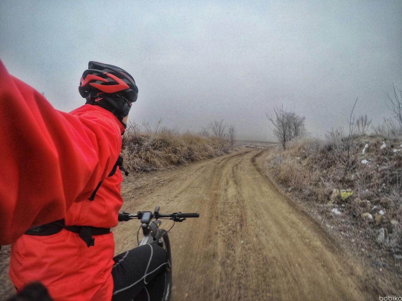 na rower jesienia izima - testowanie namtb