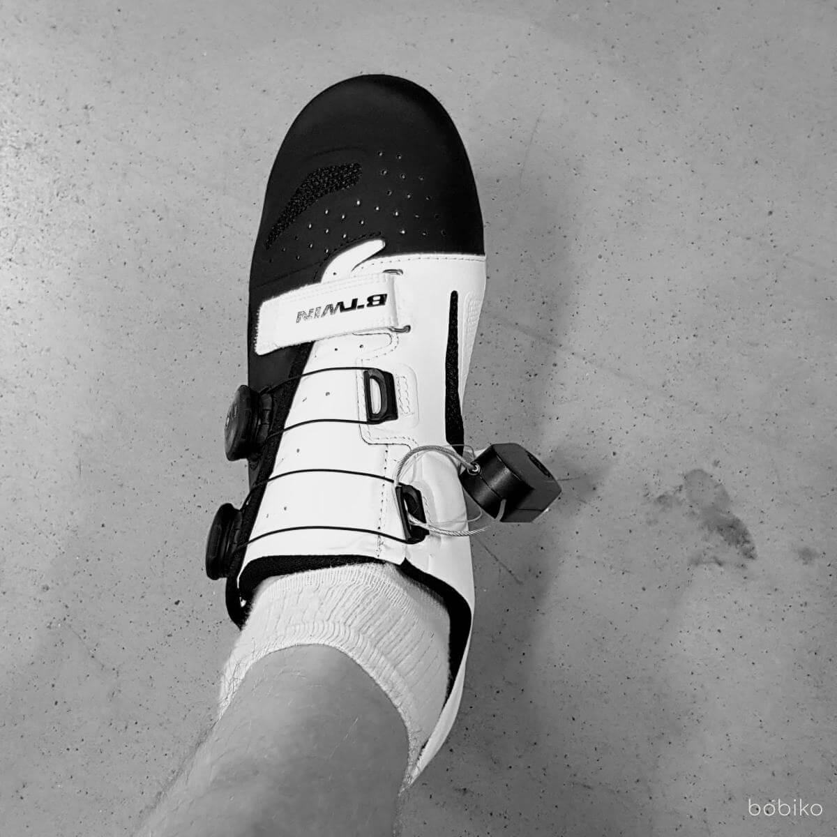 pierwsze szosowe buty BTWIN 900 Aerofit