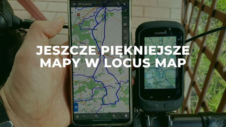 Locus Map - jeszcze ładniejsze i dokładniejsze mapy