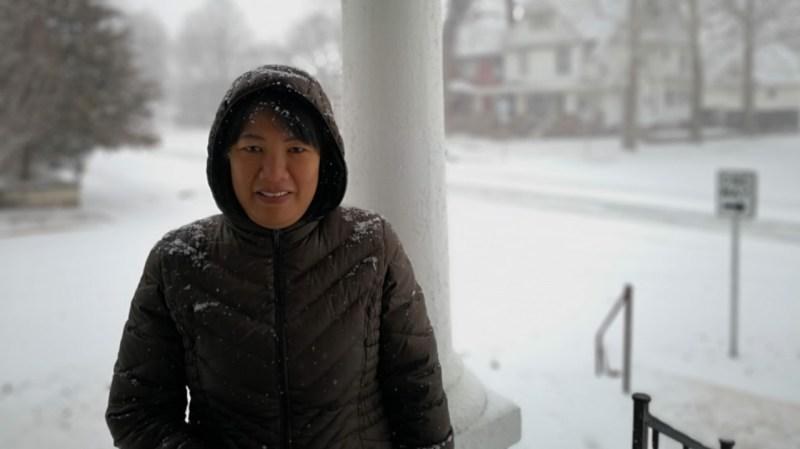 Feyma on the Porch