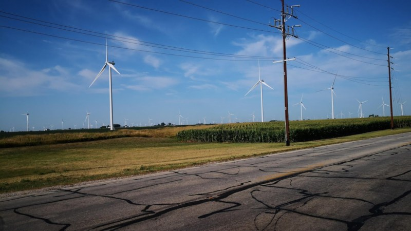 Wind Farm in Indiana