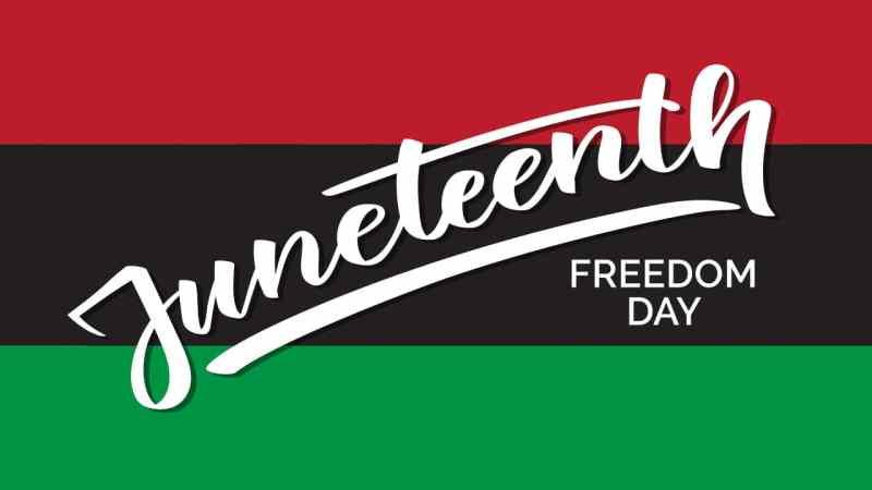 Today is Juneteenth