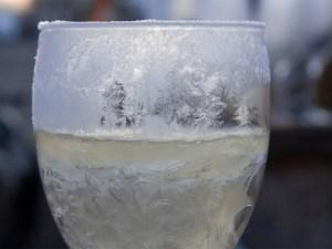 Frozen Glass of Water