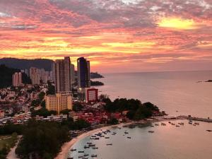 Office in Penang - Sunset
