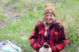 Wilderness Conservation Corps Leader, Courtney Wall