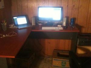 "my ""standing"" desk"
