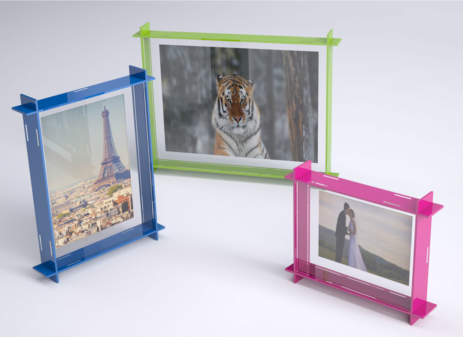 Acrylic Box Frame Set