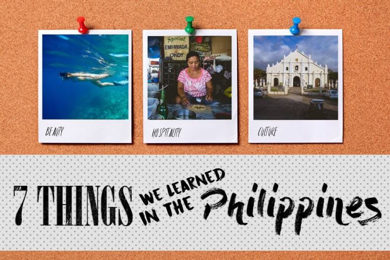 Things we learned in the Philippines