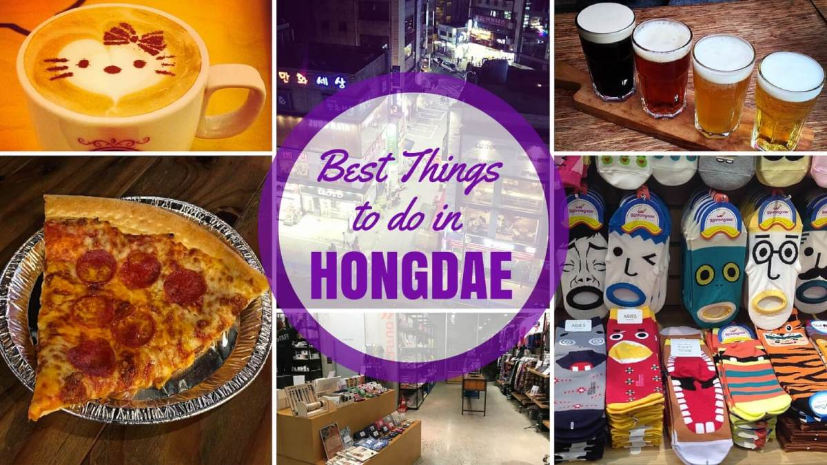 Our Picks for the Best Things to do in Hongdae