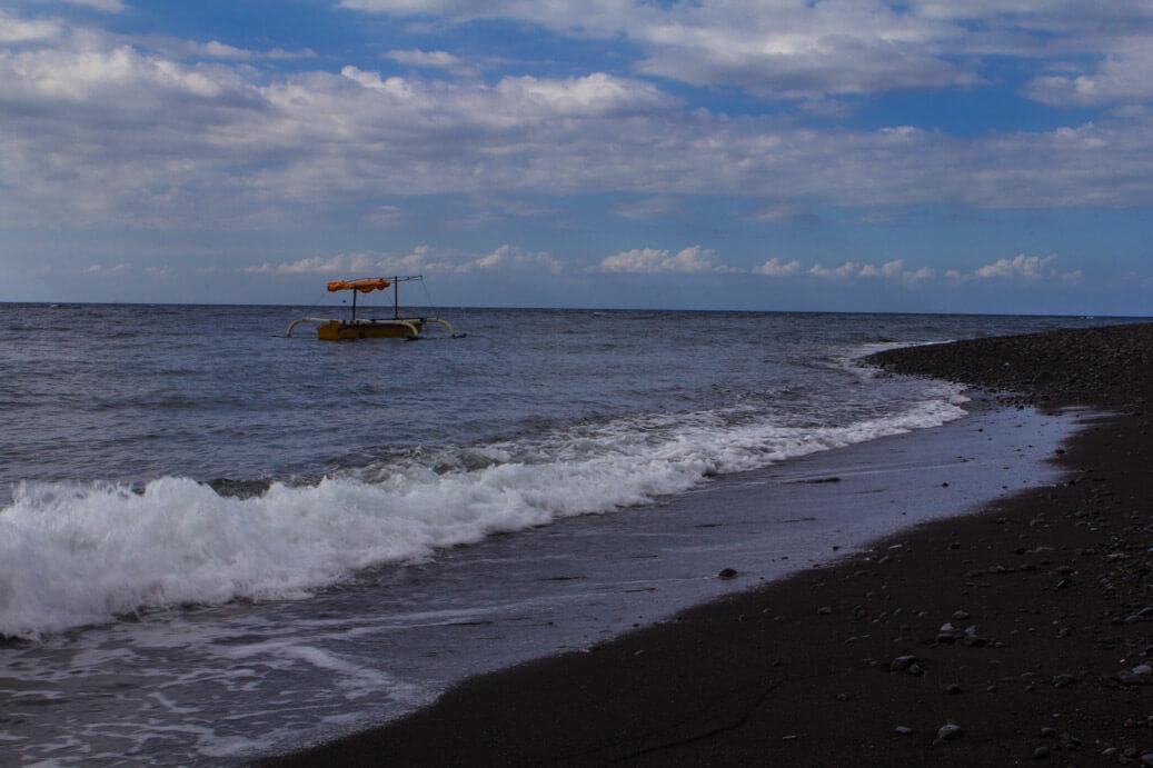 Beach Along Bali