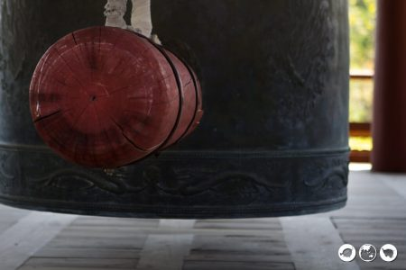 Close-up-of-Bell-in-Naksana-Temole