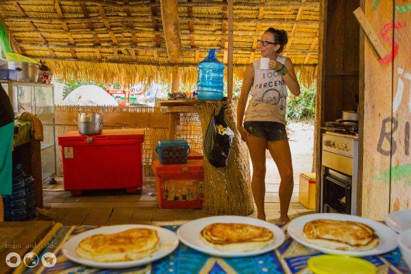 Megan-making-pancakes