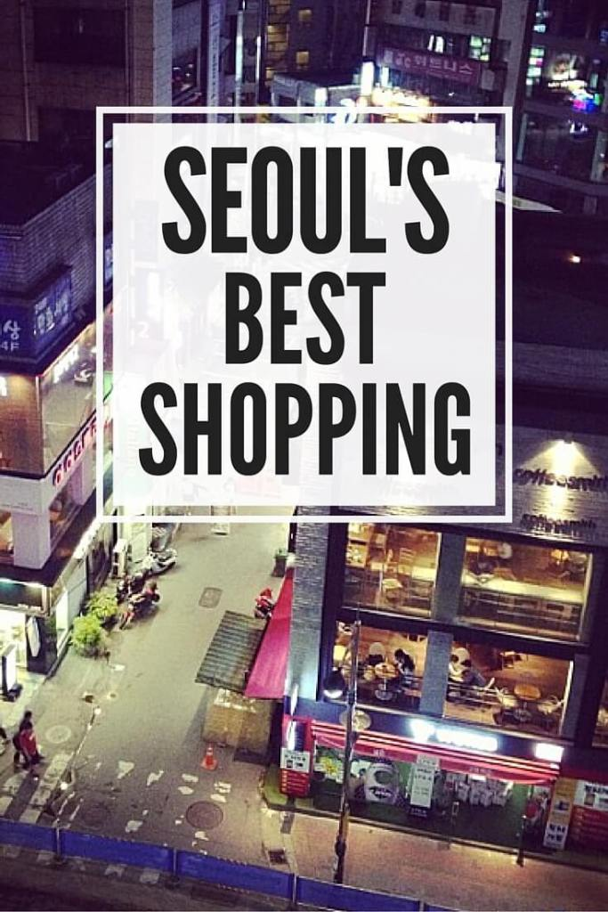 Shopping in Seoul