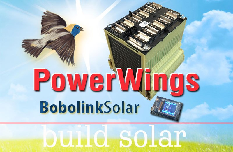 A BobolinkSolar Exclusive, lithium energy storage